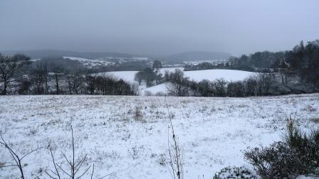 Winterlandschaft Untersiemau