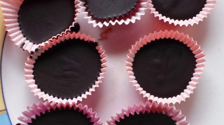 Zartbitterschokolade ohne Zucker